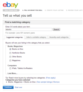 How to Place an Ad on eBay